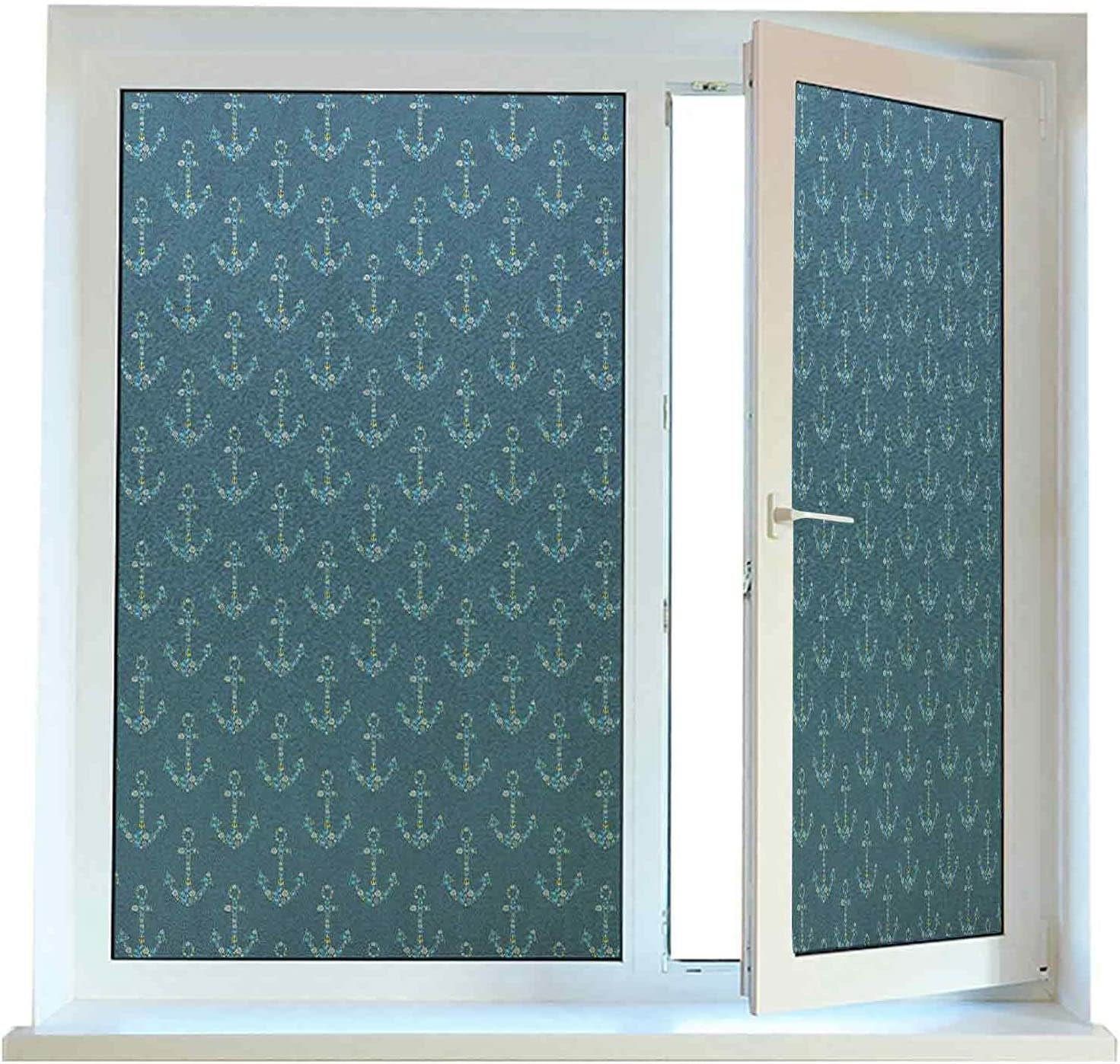Decorative Window Films for Glass Anchor Window Covering Film 24