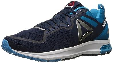Reebok Men's One Distance 2.0 Running Shoe, Collegiate Navy/Wild  Blue/Pewter/