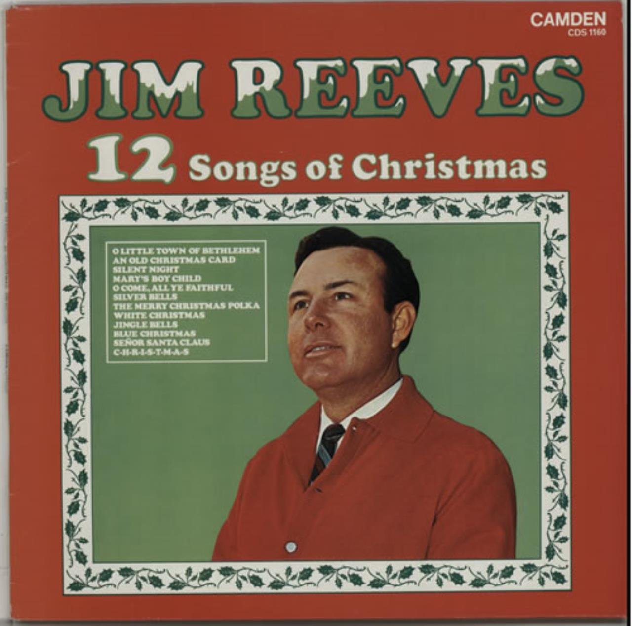 12 Songs Of Christmas - Jim Reeves LP: Jim Reeves: Amazon.ca: Music
