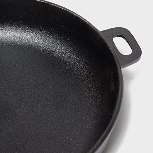 New Oase Tahoe Camping Cooking Durable Cast Iron Pan