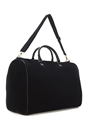 d52e0ccbf1 Limited Time Sale - Womens Black Velvet Weekender Bag