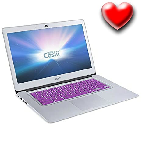 Casiii Premium Ultra Thin Acer Keyboard Cover Compatible Acer Chromebook  R11 11