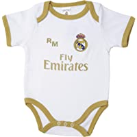 10XDIEZ Body bebe real madrid 813 bco-ocre   (6 meses - ocre)