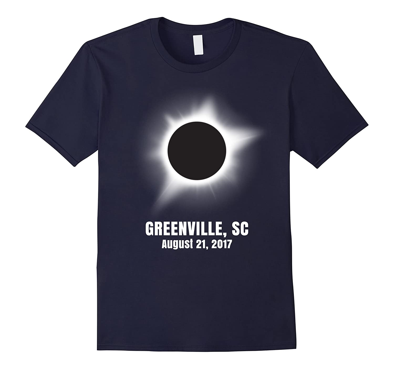 Greenville South Carolina Total Solar Eclipse T shirt-CL
