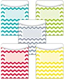 Creative Teaching Press Chevron Solids Library Pockets (6923)