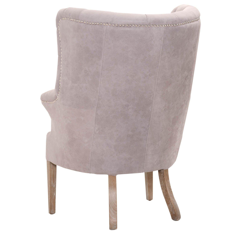 Marvelous Amazon Com Coja By Sofa4Life Borrego Leather Tufted Spiritservingveterans Wood Chair Design Ideas Spiritservingveteransorg