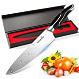 Amazon Price History for:Bluesim Chef's Knife,Stainless Steel 7.5 inch Sharp High Carbon Steel Chef's Knife with Gift Box