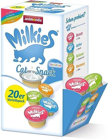 Animonda Milkies Selection, 4 Tipos de 5 Cápsulas=20 Cápsulas de 15 g