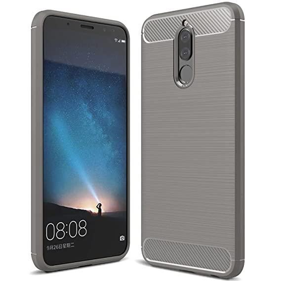 size 40 ea14a 1a655 Huawei Mate 10 Lite Case & Huawei Nova 2i Case, KuGi [Shock/Scratch  Absorption Protection] SS Durable Anti-Slip Flexible Rubber Soft TPU Bumper  Case ...
