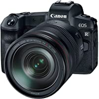 Canon Eos R Digital Mirrorless Camera With Rf 24-105Mm F4L Is Usm Lens And Canon Ring Mount Adapter Bundle Kit