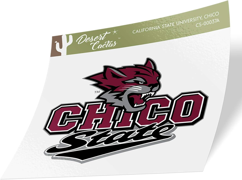 California Cal State University Chico CSU Wildcats NCAA Name Logo Vinyl Decal Laptop Water Bottle Car Scrapbook 15 Inch Sticker