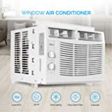 DELLA 5,000 BTU Window-Mounted Air Conditioner AC Unit Cool 115-Volt 150 SQ FT Energy Saving with Mechanical Controls