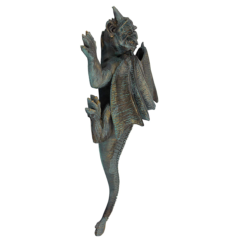 Design Toscano PD1571 Sculpture de Gargouille sur Mur R/ésine