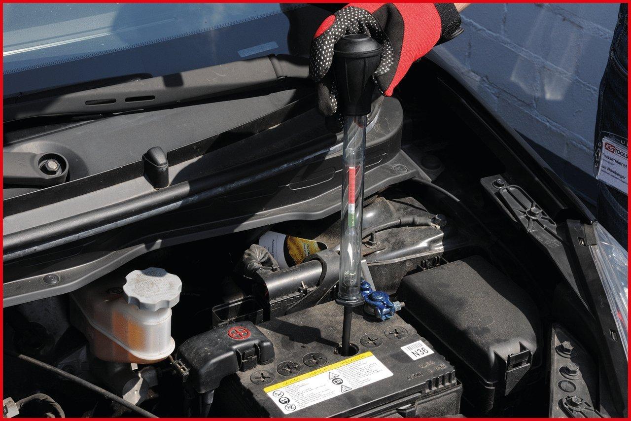 KS Tools 550.1680 S/äurepr/üfer f/ür Batteriefl/üssigkeit 280mm