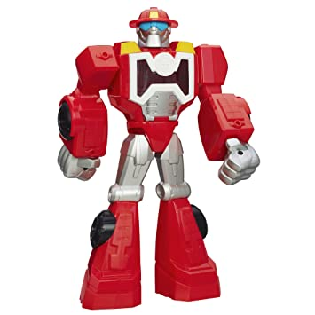 PLAYSKOOL TRANSFORMERS RESCUE BOTS HEATWAVE THE FIRE BOT FIGURE