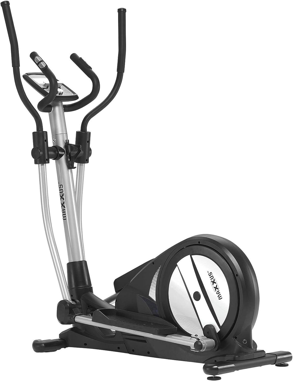 Maxxus Crosstrainer CX 3.0 - Máquina elíptica silenciosa con poco espacio, control por Bluetooth - 26 kg de masa oscilante, para el entrenamiento en casa