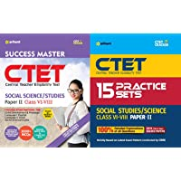 CTET Success Master Paper-II Teacher Selection for Class VI-VIII SOCIAL STUDIES/SCIENCE with Practice set Arihant