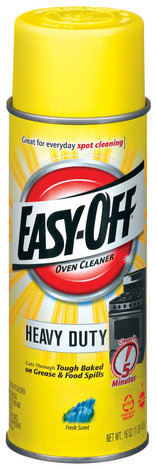 Easy-Off Oven Cleaner - Heavy Duty Oven Cleaner - Aerosol 16 Ounce.(Pack of 12)