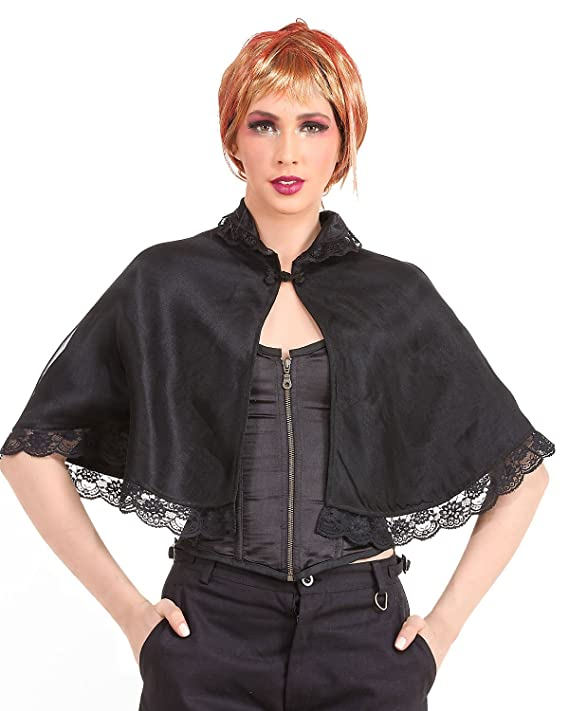 Steampunk Vests and Wraps Lace Shrug Costume  AT vintagedancer.com