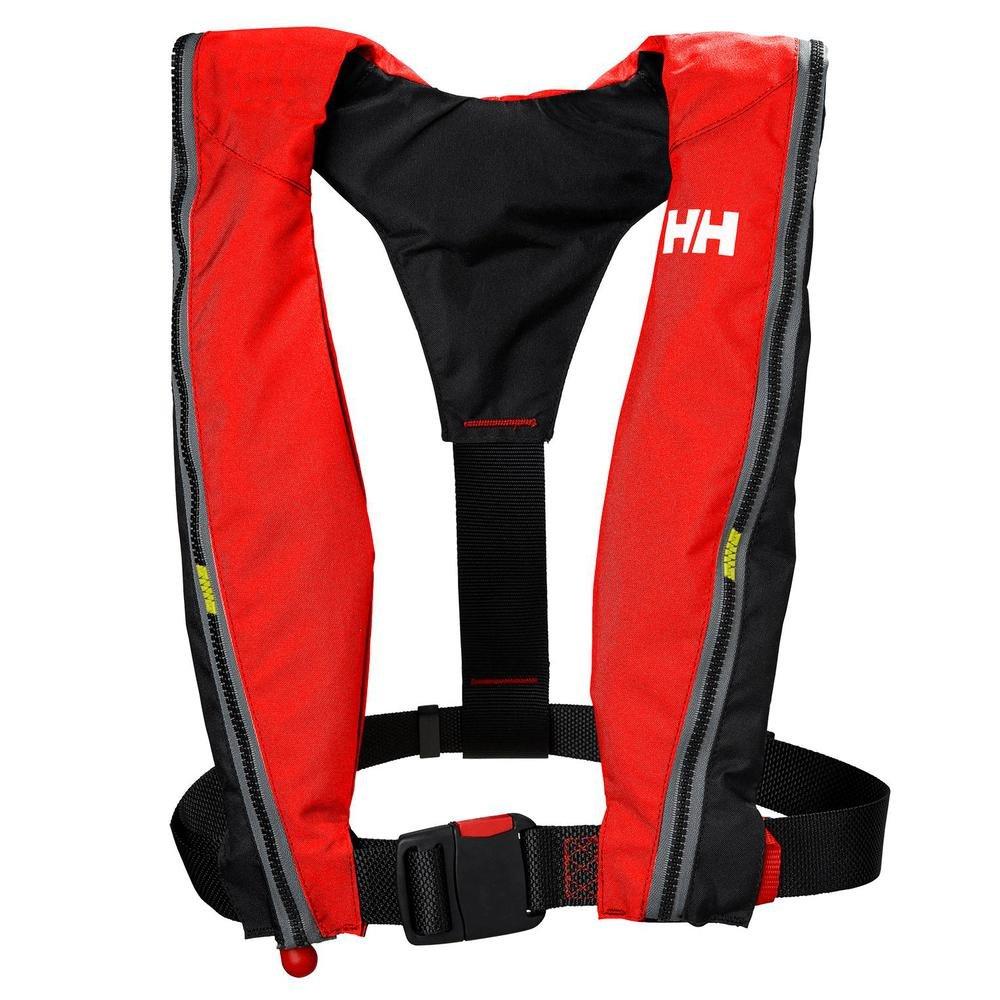 buy popular 30383 1d8c4 Helly Hansen Unisex's Sport Inflatable Lifejacket, Alert Red ...