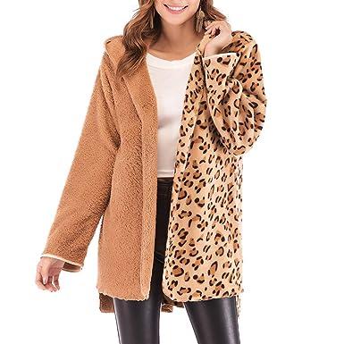 Frauen Mantel Mode Leopard Druck Mantel Frauen Lange Mäntel Und Jacken Dame Strickjacke Top Leopard Jacke Frauen Mäntel Und Oberbekleidung