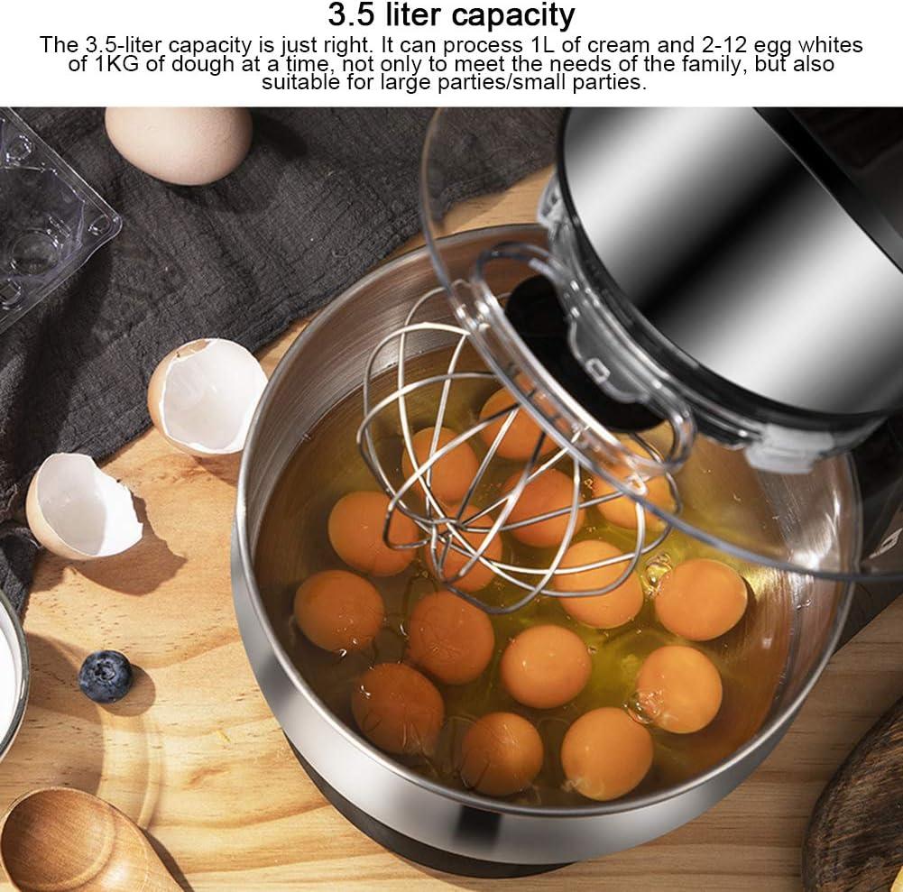 ACCLD 6-Gang Elektrische Eierschlagmaschine Creme, Teig Multifunktions-Schneebesen Geeignet Für Die Küche Zu Hause White