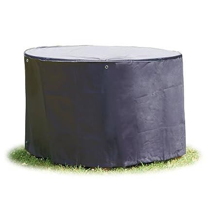 Gartenmöbel Abdeckung.Schutzhülle Rund 200 Cm Für Gartenmöbel Abdeckung Gartentisch In Premium Qualität