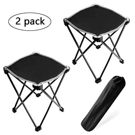Pleasant Amazon Com Hteanco 2Pack Folding Camping Stool Portable Uwap Interior Chair Design Uwaporg