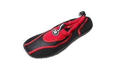 Amazon.com | Women's Ankle Water Shoes Aqua Socks Snorkeling Pool ...