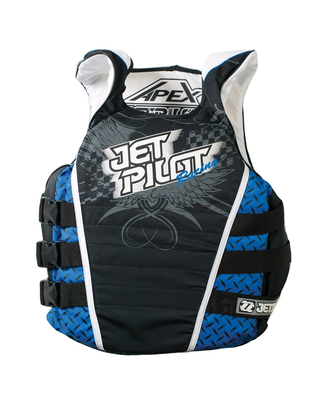 (Small/Medium, Blue) - JetPilot Apex Side Entry Vest   B004E0K3D6