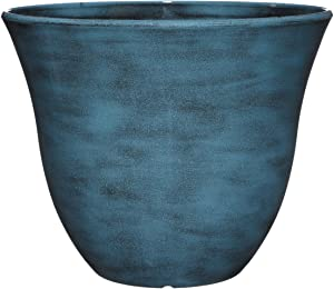 Classic Home and Garden Honeysuckle Planter, Patio Pot, 13