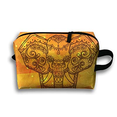 ODLS7 Elephant Travel Multifunction Toiletry Organizers Business Bag Cosmetic Bag Women Men