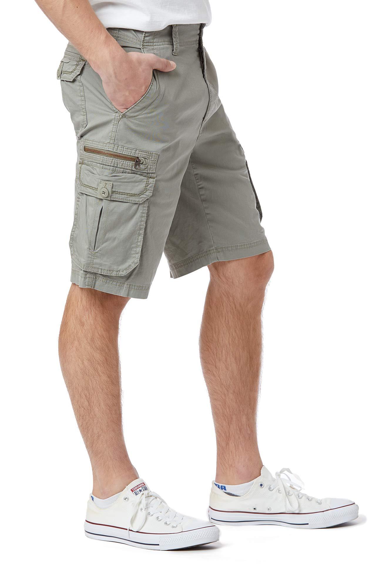 Unionbay para para para Hombre Stretch fresco Sarga Relaxed Fit Zip-elegir talla Color 2eb73e