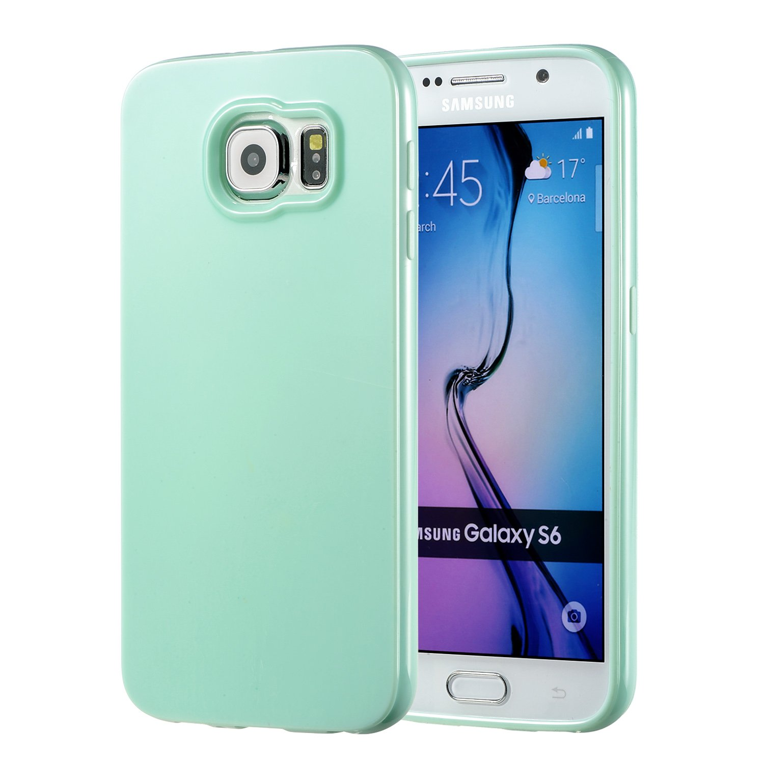 amazon com galaxy s6 mint case, technext020 galaxy s6 case siliconeamazon com galaxy s6 mint case, technext020 galaxy s6 case silicone protective back cover slim fit samsung galaxy s6 bumper cell phones \u0026 accessories