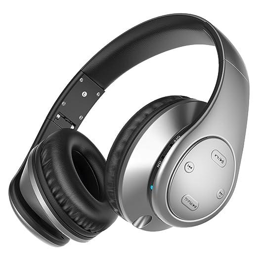 4 opinioni per Picun P7 Over-Ear Headphones V4.0 senza fili Bluetooth leggero pieghevole