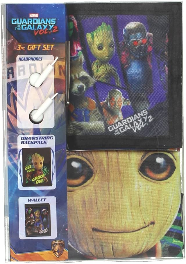 Guardians of the Galaxy Vol 2 Boys Backpack Headphones Wallet Gift Set ZG29912SC