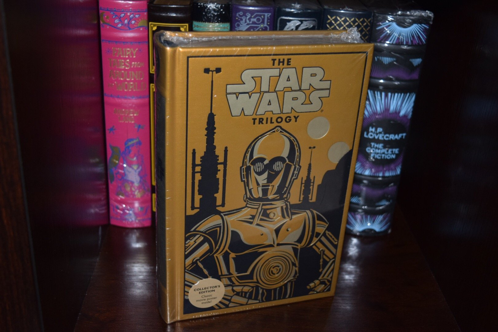 The Star Wars Trilogy Gold Special Edition Hardcover George Lucas 9780385364942 Amazon Com Books
