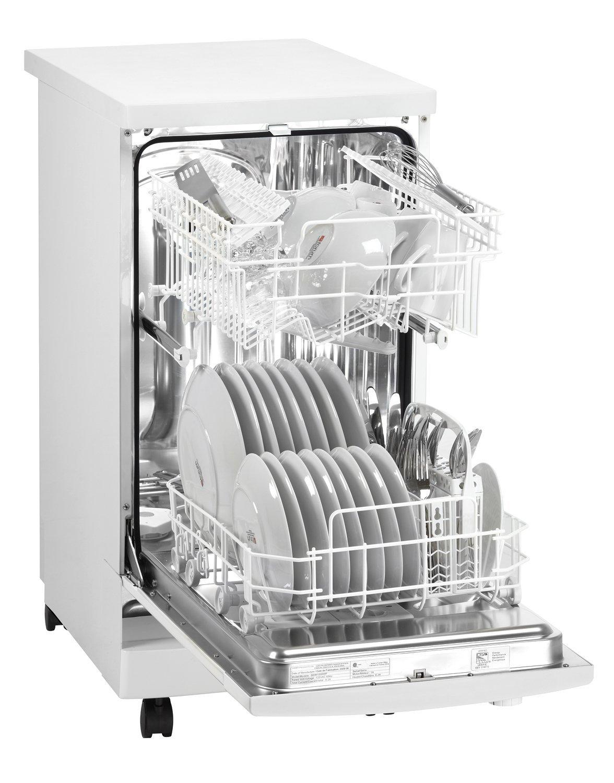 Amazon.com: Danby DDW1801MWP Portable Dishwasher, White: Appliances