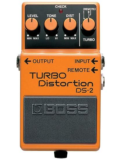 BOSS DS-2Turbo distorsión Pedal (DS2)