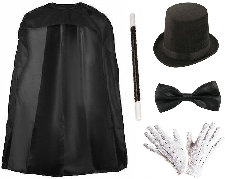 Tradicional disfraz de mago de Lollipop Clothing; incluye capa ...