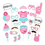 25pcs Party Props Photo Booth Funny Selfie Kit for