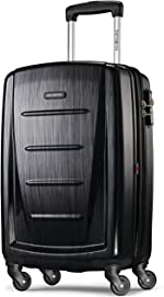 Samsonite Winfield 2 Hardside Luggage with Spinner Wheels, Brushed Anthracite, Carry-On