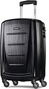 Samsonite Winfield 2 Hardside Luggage with Spinner Wheels, Brushed Anthracite, Carry-On 20-Inch