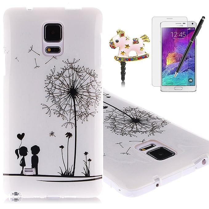 13 opinioni per HB-Int Custodia Case TPU per Samsung Galaxy Note 4 (SM-N910F) Gel Silicone