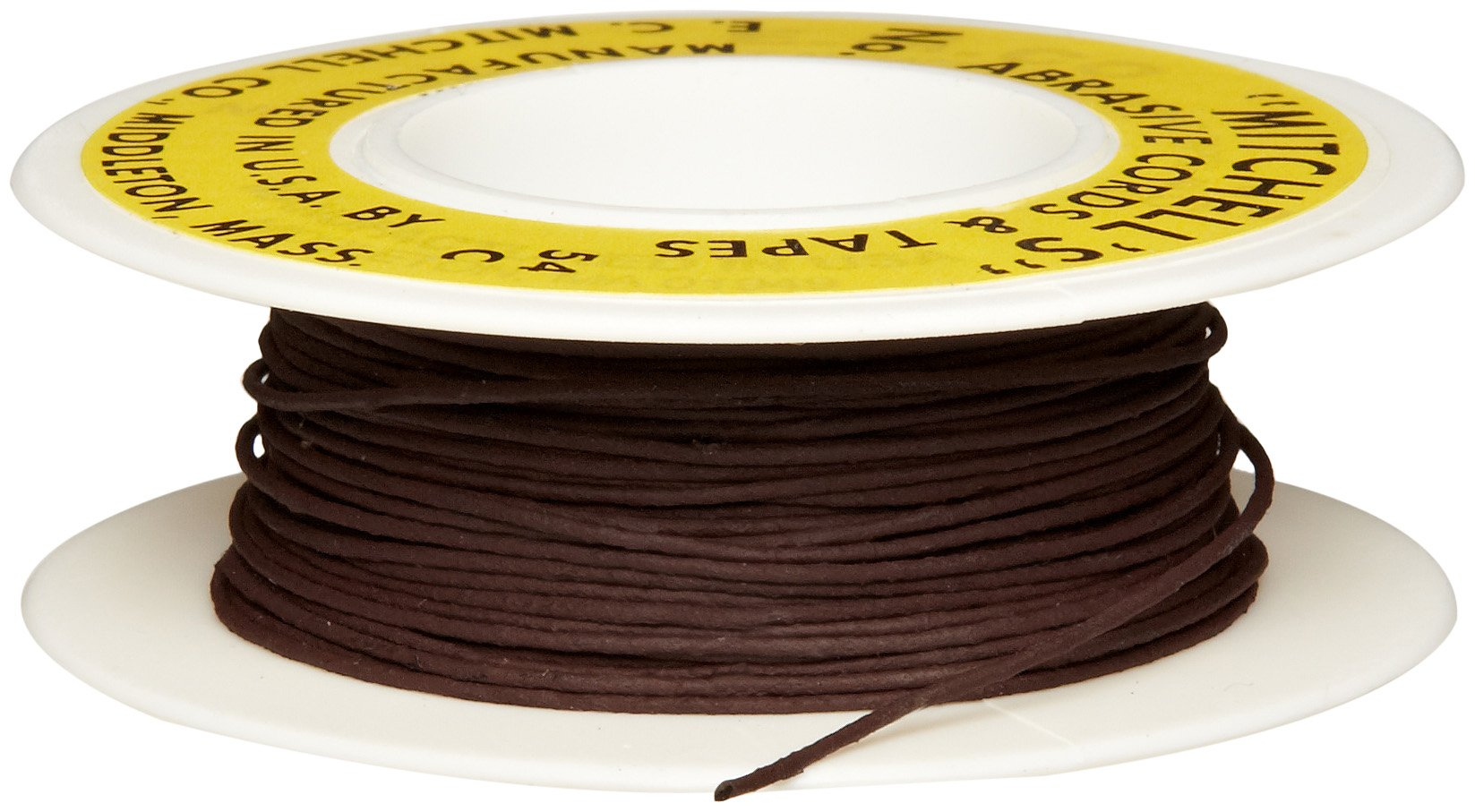 Mitchell Abrasives 54-C Round Crocus Polishing Cord, .030'' Diameter x 50 Feet by Mitchell Abrasives