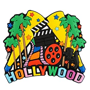 Hollywood Magnet and Colorful 3D Magnet for Home or Office 3.5 Inches Wide
