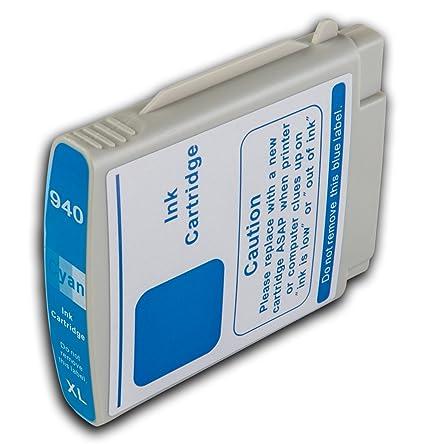 La Tinta Calamar 1 Cian HP 940 XL no OEM Compatible Cartucho de ...