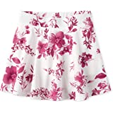 The Children's Place Girls' Floral Print Pleated Skorts