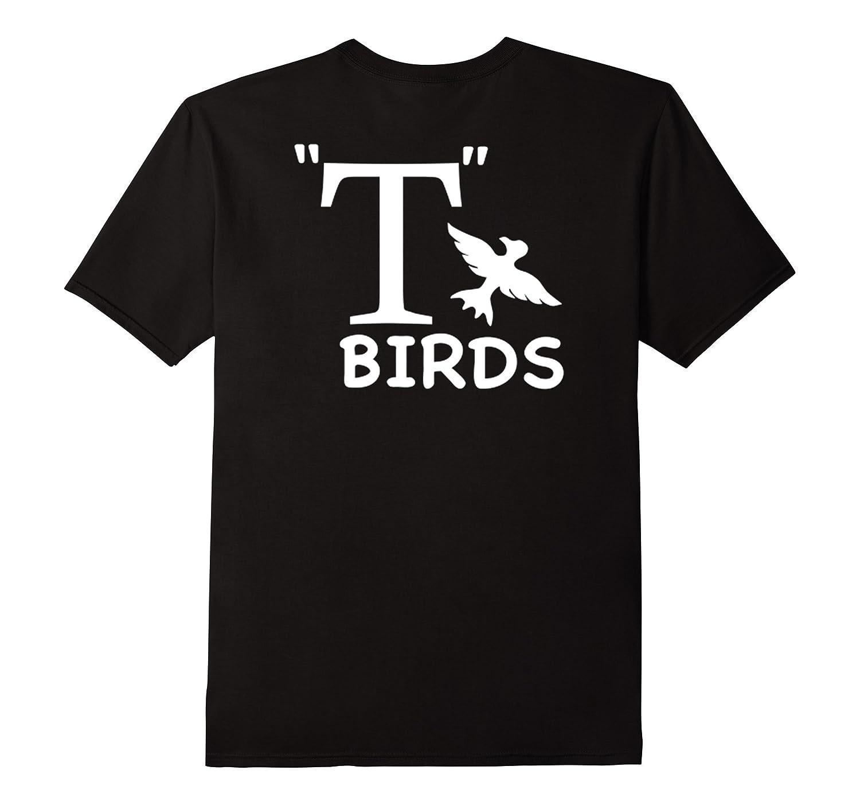 T- Birds Grease Movie Themed Back Print Tshirt | Rydell High-FL