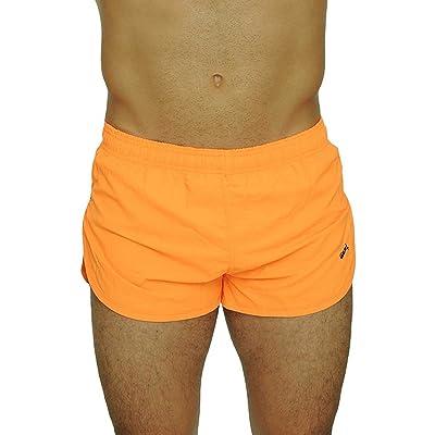 VbrandeD Men's American Flag and Nylon Swimwear Running Shorts